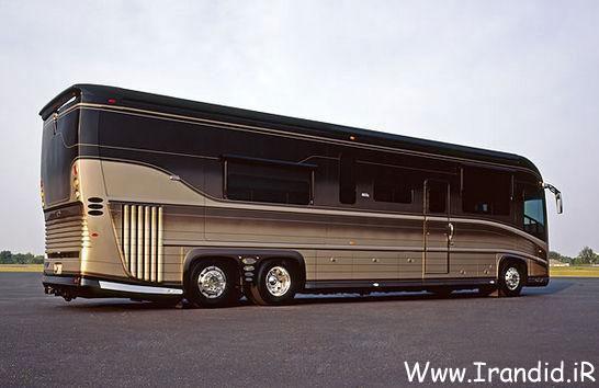 اتوبوس مسافرتی 5 ستاره در دبی !!! Www.Irandid.iR